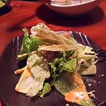 ラグジュアリー個室・肉プレート・ビストロ Gaya - 野菜サラダ