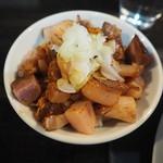 カネキッチン ヌードル - ランチ肉飯150円
