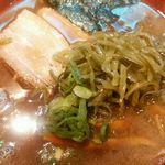 麺匠 呉屋 - 醤油そば + 茎わかめ アップ