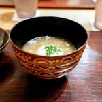 虎白 - すっぽんと白胡麻豆腐