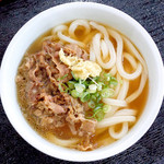 麺ねり - 料理写真:肉うどん
