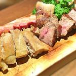 67405691 - お肉の盛り合わせ!