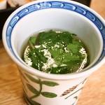 芳味亭 - 上洋食弁当(スープ)
