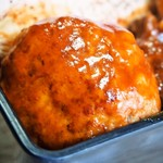 芳味亭 - 上洋食弁当(ミニハンバーグ)