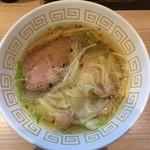 67407717 - 海老ワンタン塩らぁ麺