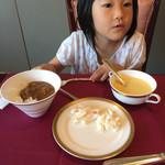 ヴァンセーヌ - 娘はコーンスープと牛すじカレー(^∇^)