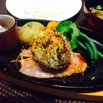 ほの字 - 豆腐ハンバーグ