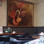 ガネッシュティールーム - お店の雰囲気♪