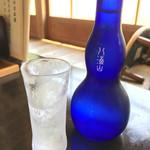 そば屋 長森 - 八海山生酒マイナス12度