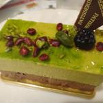 銀杏や - ピスタチオのケーキ