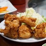 ニテコ名水庵 - 鶏の唐揚げ