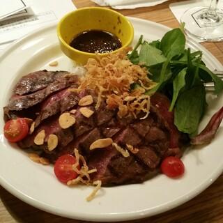 eplus LIVING ROOM CAFE&DINING - 牛リブロースグリルステーキライス