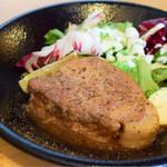A muse - 厚切り豚ロースの生姜焼き定食@税込890円