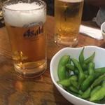 フィレンツェ - 生+枝豆セット ¥500