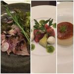 実松 - コース料理(例)