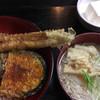 きらく亭 - 料理写真:あなご天丼¥800