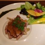トラットリア ゴデレッチョ エビス - 鴨もも肉のコンフィ