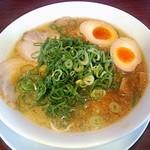 ごん - 料理写真:【ごんらーめん 煮玉子入り】¥780