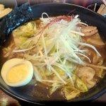 麺処 メディスン麺 - 赤麺 大盛