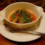 Naga~n cucina italiana - 上ミノとトリッパのトマト煮込み