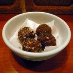 Naga~n cucina italiana - スパイス入りフランス産カモ肉団子