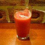 Naga~n cucina italiana - ブラッドオレンジジュース