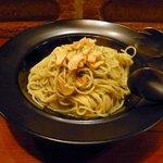 Naga~n cucina italiana - 定番ニンニクとタカの爪のスパゲティ