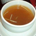 木蘭 - 達人セットのスープ(ふかひれ)