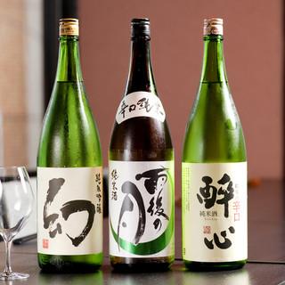 広島県産の日本酒をご用意
