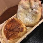 五穀七福 - まろやかチーズカレーパン、ざくざくチョコパン