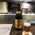 炭焼 芹生 - 中瓶ビール700円
