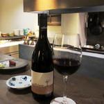 炭焼 芹生 - サリス テッレ メルロー。イタリア フリウリの赤 グラス800円
