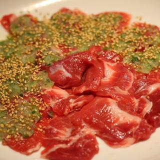 究極!産地直送の新鮮生ラム肉の網焼きジンギスカン
