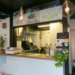 Kyocafe chacha - 店内カウンター