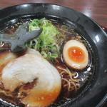 包王 - 料理写真:戦国ブラックラーメン700円