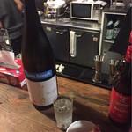 67429469 - 御前酒(日本酒)+炙りたらこ