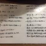 67429477 - 日本酒メニュー