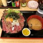 ドンブリ アサダ - ステーキ丼〈大盛〉