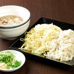 亀仙人 - つけ麺(夫婦盛り)