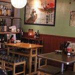 居酒屋 餃子のニューヨーク - 奥の席