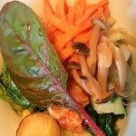 ツチオーネ - 十種類の野菜のベジナムル丼