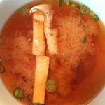 ツチオーネ - お味噌汁