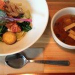 ツチオーネ - 十種類の野菜のベジナムル丼ランチ