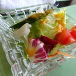 黒船亭 - サラダAセットのサラダ