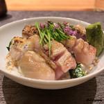 粋・丸新 - 料理写真:spécialitéのノドグロ炙り丼