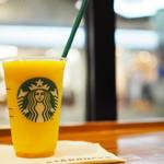 スターバックスコーヒー - マンゴー パッション ティー フラペチーノ ティー抜き(ショート)