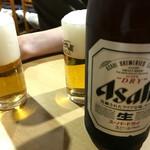 焼き鳥 千羽 - 瓶ビール