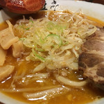 高田 煮干しと焼き味噌 豆亭 -