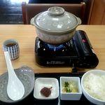 お食事処 雷電 - ちゃんこ鍋定食:1,800円
