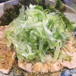 iitoco - 蒸し豚の葱ソースかけ